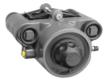 Hydraulic spring applied - air released sliding caliper brakes - 103201 - Industrial brakes
