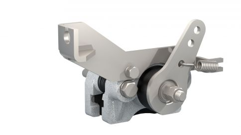 Mechanical sliding calliper brake - 106770.02 - Industrial brakes