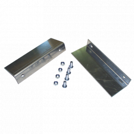 Anchoring bracket set